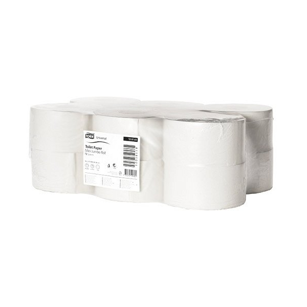 TORK Toilet Paper Mini Jumbo Roll Universal