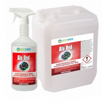 ECO SHINE ALU RED 1L