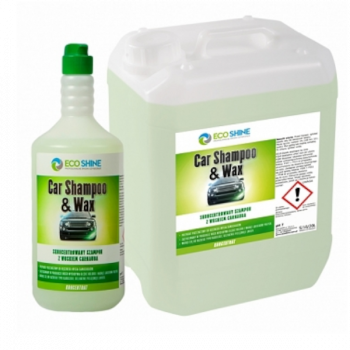 ECO SHINE CAR SHAMPOO & WAX 5L