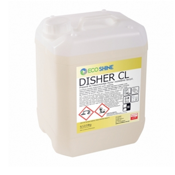 ECO SHINE DISHER CL 24KG