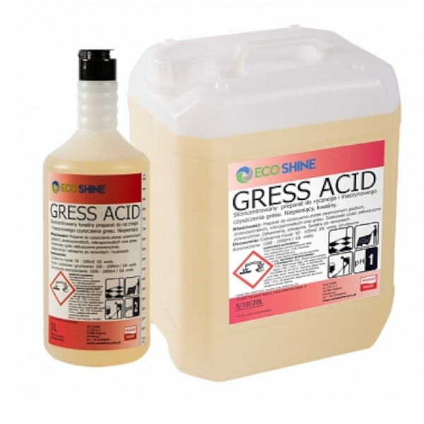 ECO SHINE GRESS ACID 5L