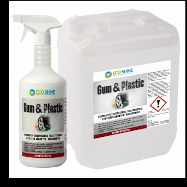 ECO SHINE GUM & PLASTIC 1L